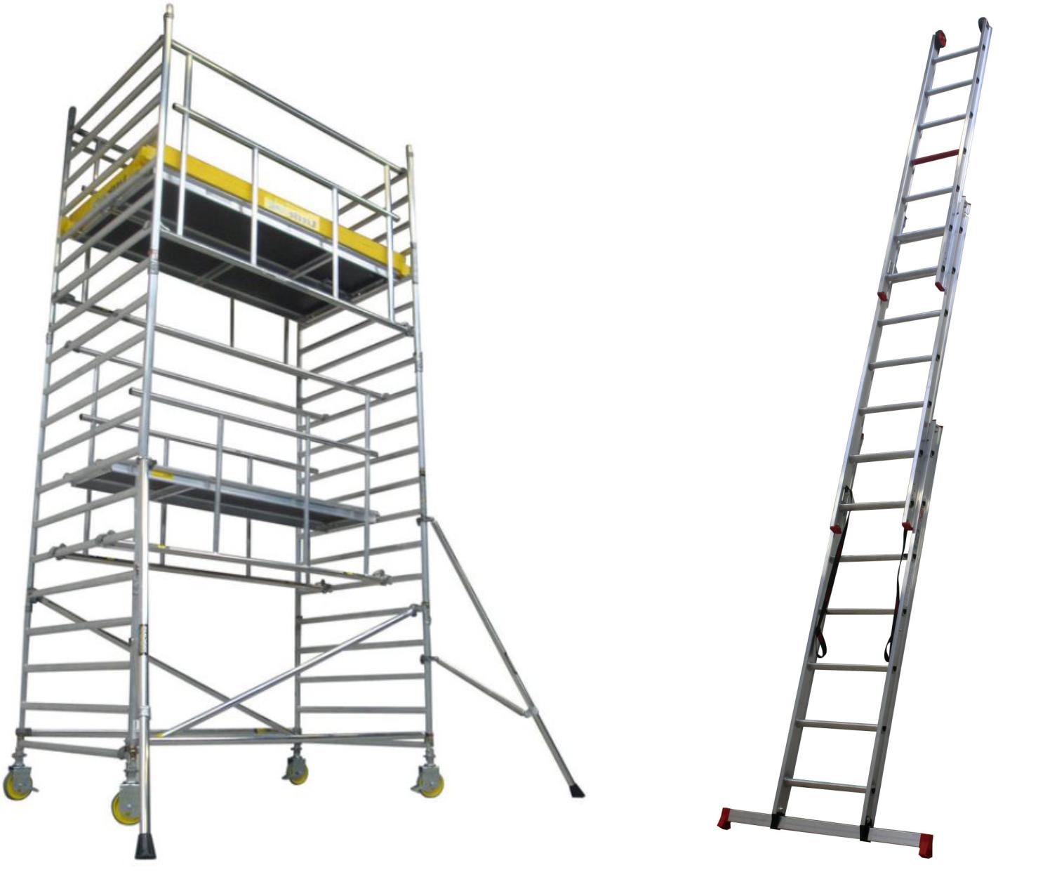 Keuren Trappen, ladders & rolsteigers (NEN 2484/1004)