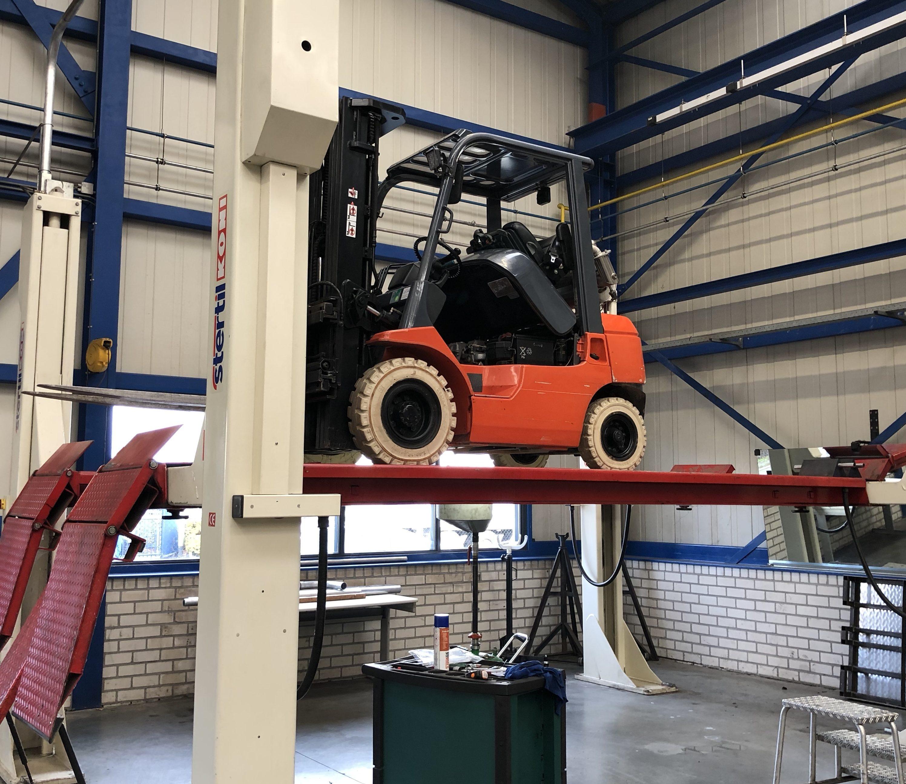 Keuren & onderhoud intern transportmaterieel (BMWT)