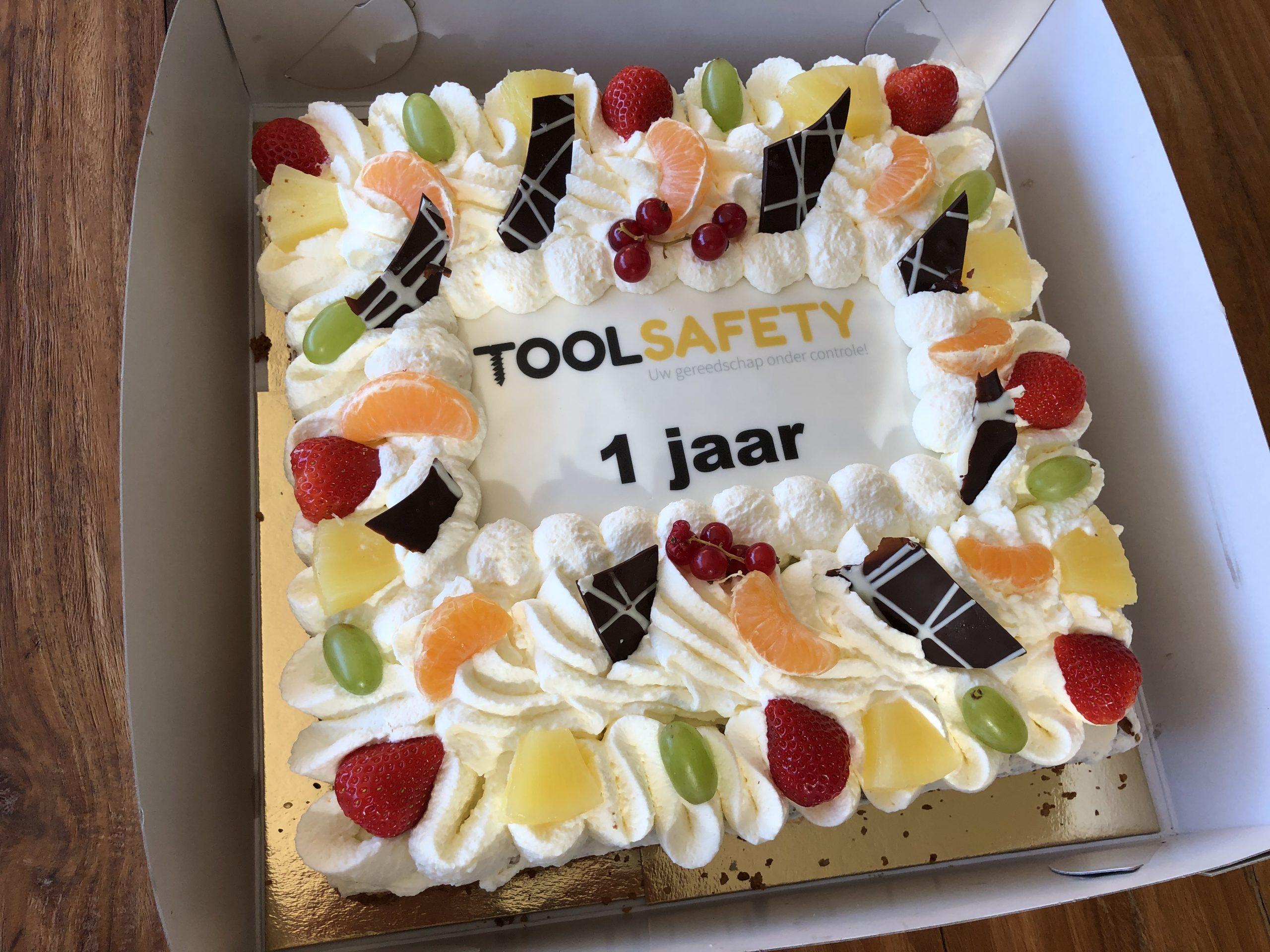 ToolSafety bestaat alweer 1 jaar!